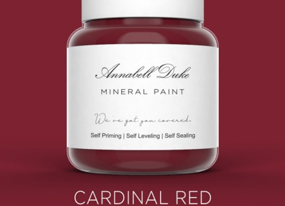 Annabell Duke Cardinal Red Mineral Paint