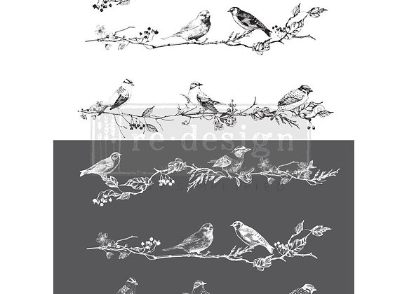 Birds & Berries Decor Transfer | ReDesign With Prima