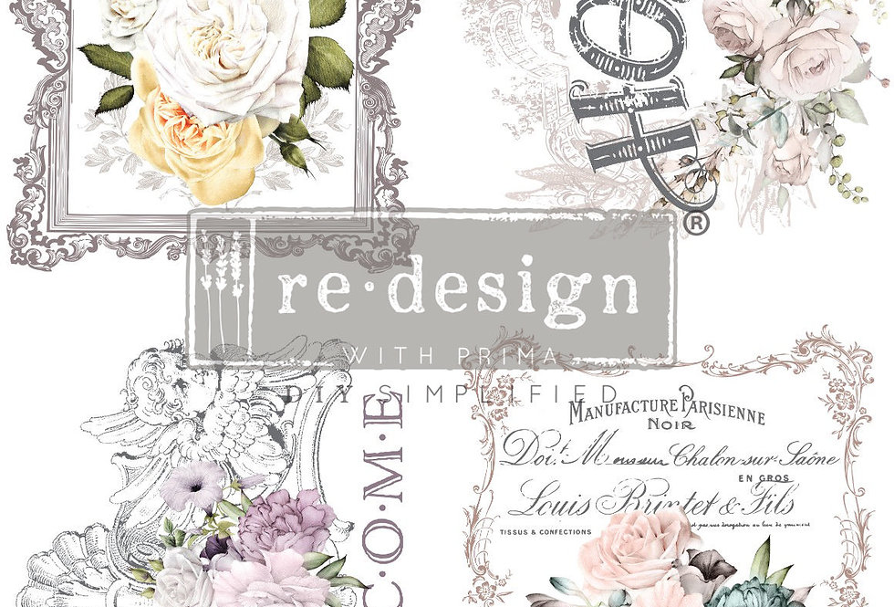 Floral Home Decor Transfer | ReDesign With Prima