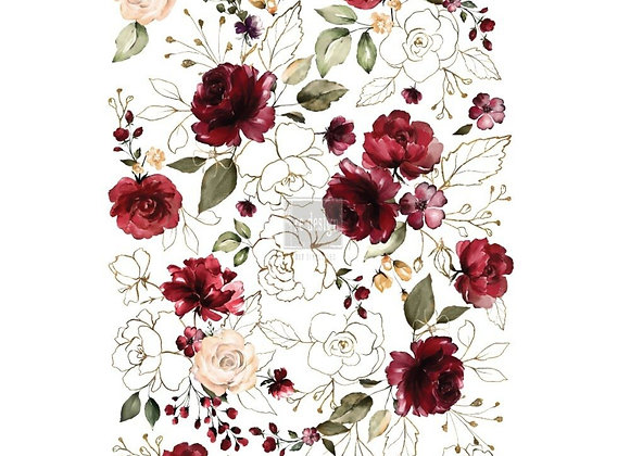 Midnight Floral 2 Decor Transfer | ReDesign With Prima