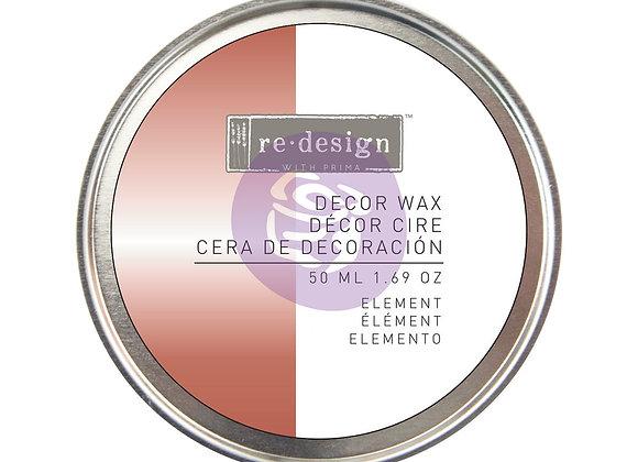 Element Decor Wax Paste 50ml - Brass Wax