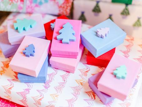DIY Christmas Tree Gift Boxes