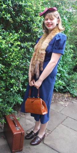 WWII costume hire, Joan (2)