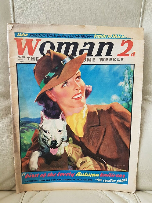 Woman magazine, number 117, August 26th 1939