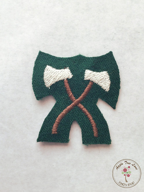 Timber Corps Fabric Badge