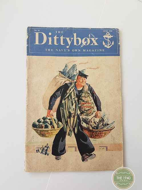 The Ditty Box Magazine, re enactment, Home Front, WW2, 40's, Wartime, WWII,