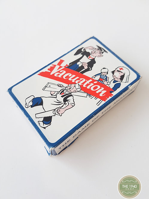 Vacuation Card Game, Home Front, WW2, 40's, Wartime, WWII,