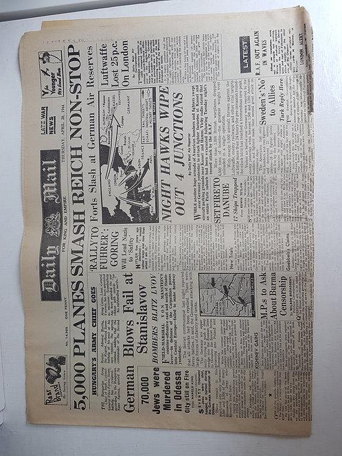 1940's newspaper