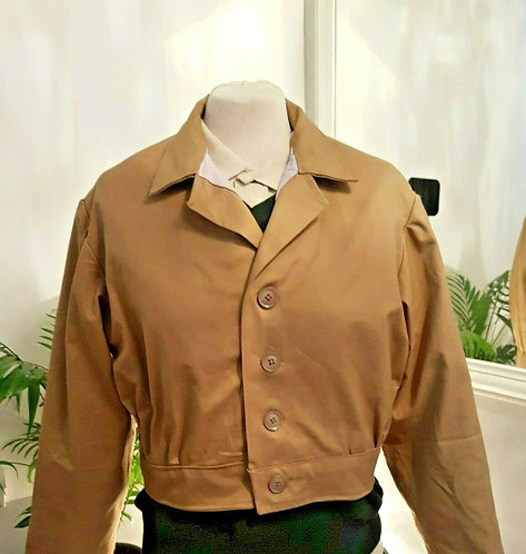WLA, Women's Land Army Tractor Jacket, WW2, Home Front, 1940's, REPRO (L)