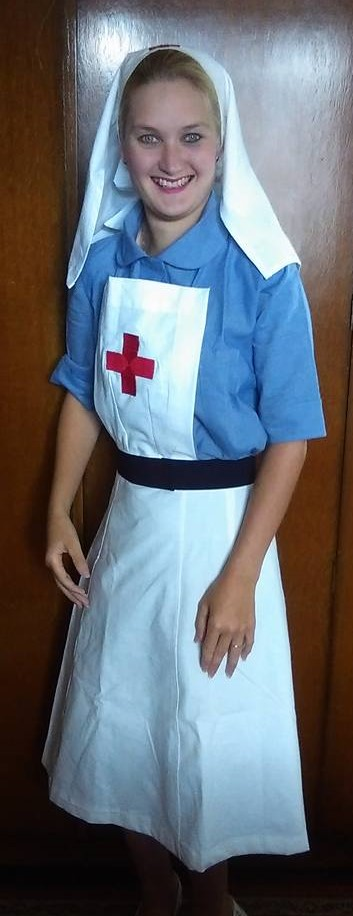 WW2 Nurse Apple Tree Lane