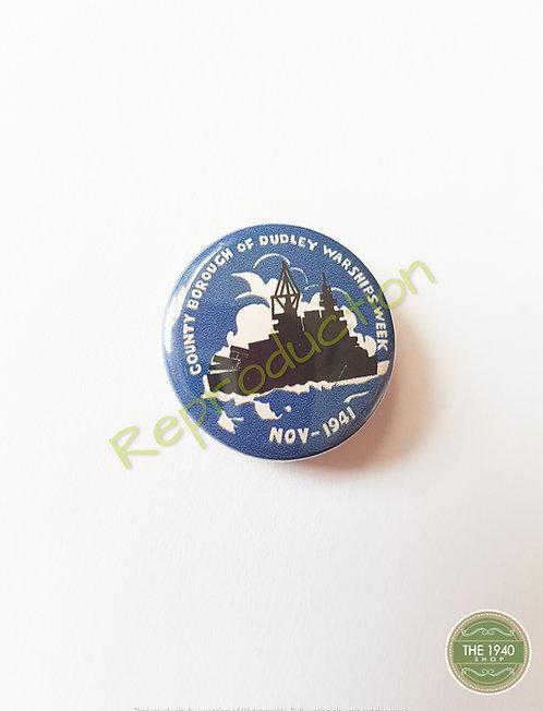 Warship Week Fundraising Badge