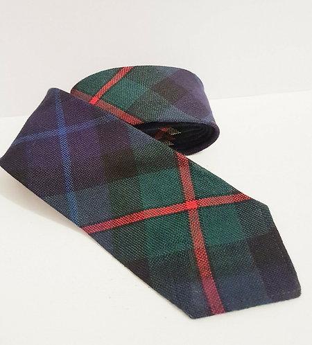 Men's Vintage Neck Tie, 1940's, Home Front, WW2, Scottish (G2)
