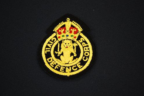 Civil Defence Badge