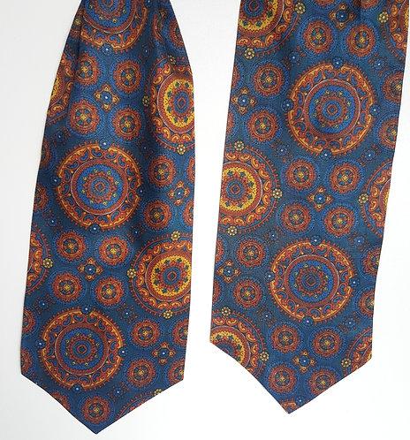 Vintage blue Cravat