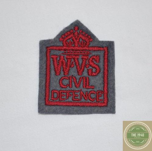 WVS Fabric badge