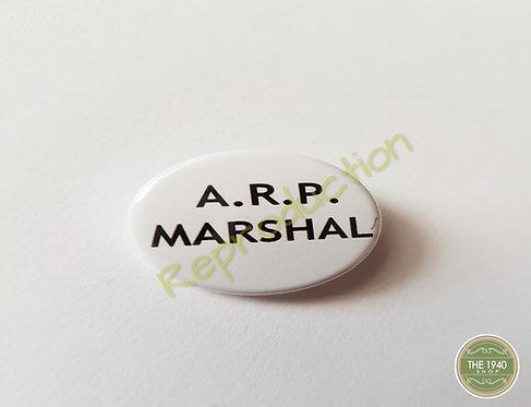ARP Marshal Pin Badge
