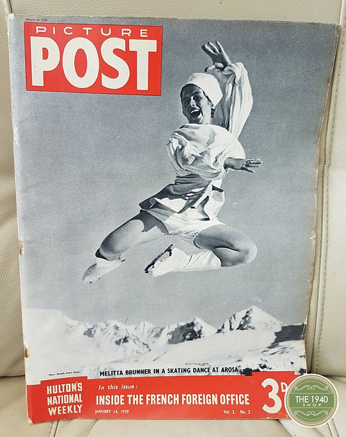 Picture Post Magazine, January 14th 1939