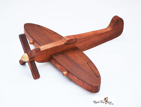 1940's wooden spitfire