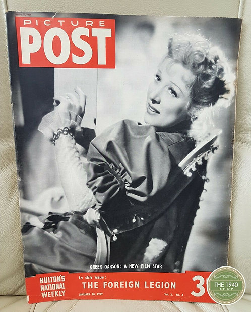 Picture Post Magazine, January 28th 1939