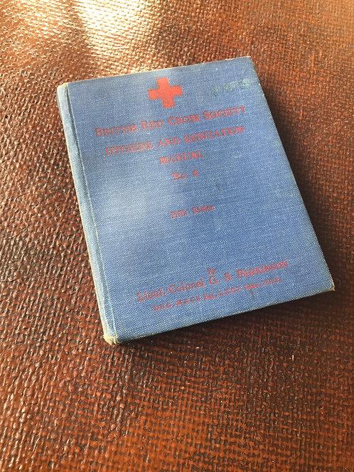 Wartime Red Cross Hygene book   (B002)