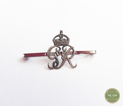 Vintage George VI Sweetheart Pin, Tie Pin, Brooch, 1940's, Wartime, WW2