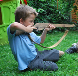 wooden rifle
