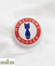 Munitions Worker Badge