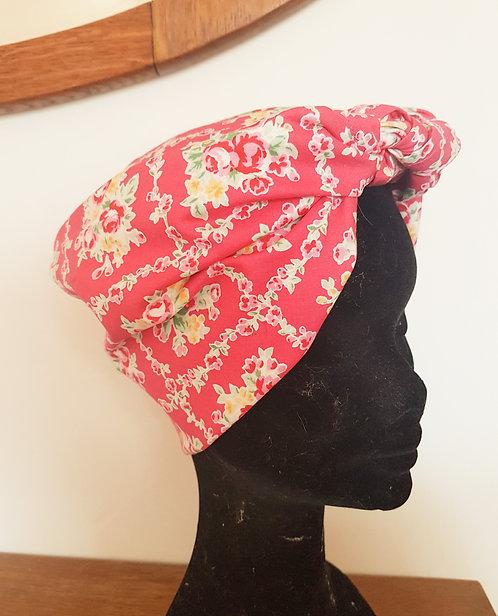 Pink Trellis Headscarf