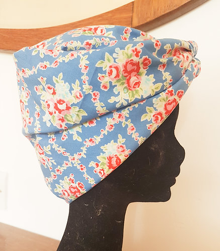 Blue Trellis Headscarf