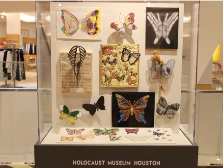 Connecting with the Children of the Holocaust through The Butterfly Project