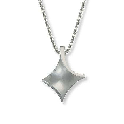 Silver Twist small pendant