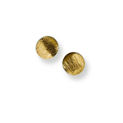 Flowing Curves small round stud earrings