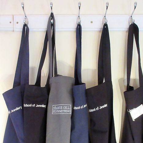 Aprons at the school of jewellery.jpg