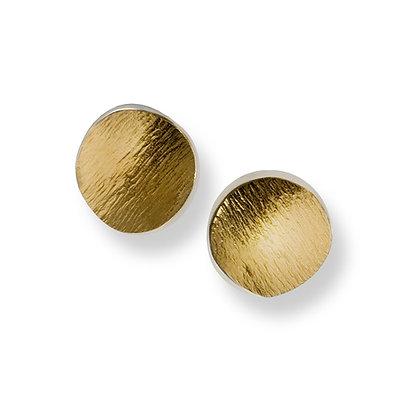 Flowing Curves round earrings