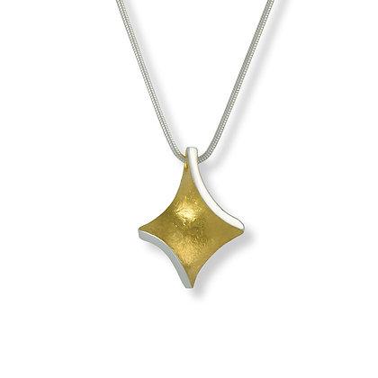Golden Twist small pendant