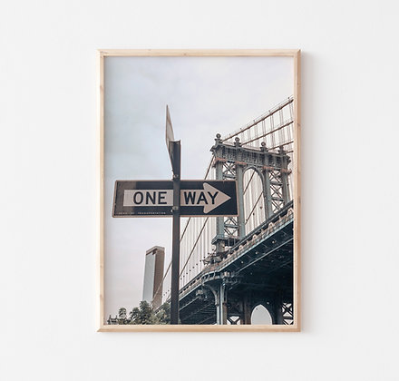 One Way |  New York