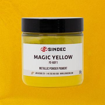 _0015_Magic Yellow jofa resins metallic pigment epoxy art design 100g uk delivery buy onli