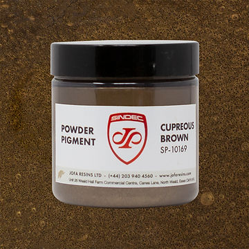 _0025_Cupreous Brown jofa resins metallic pigment epoxy art design 100g uk delivery buy on