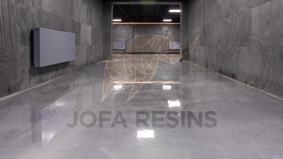 Biggin Hill - Metallic Epoxy Flooring
