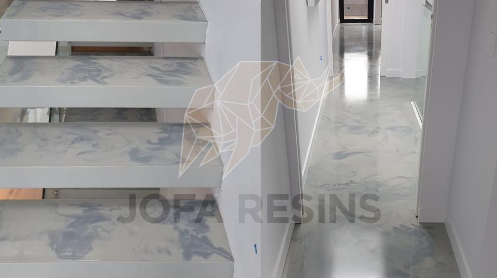 Brighton - Epoxy Marble Effect