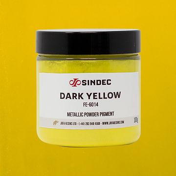 _0014_Dark Yellow jofa resins metallic pigment epoxy art design 100g uk delivery buy onlin
