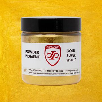_0016_Gold Super jofa resins metallic pigment epoxy art design 100g uk delivery buy online