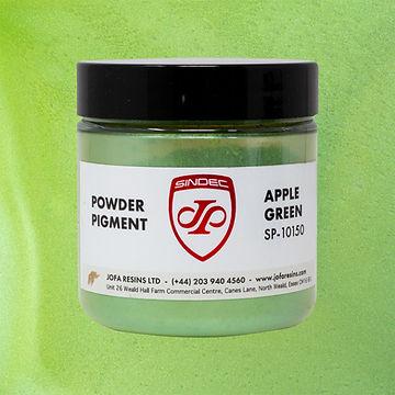 _0005_Apple Green jofa resins metallic pigment epoxy art design 100g uk delivery buy onlin