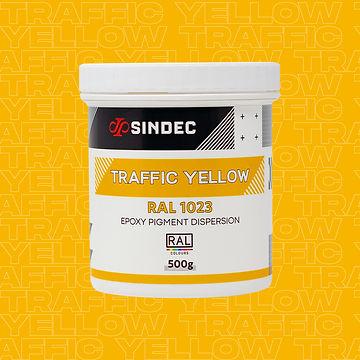 Traffic-Yellow jofa resins liquid epoxy pigment dispersion uk sindec.jpg