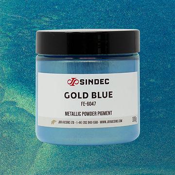_0024_Gold Blue jofa resins metallic pigment epoxy art design 100g uk delivery buy online.