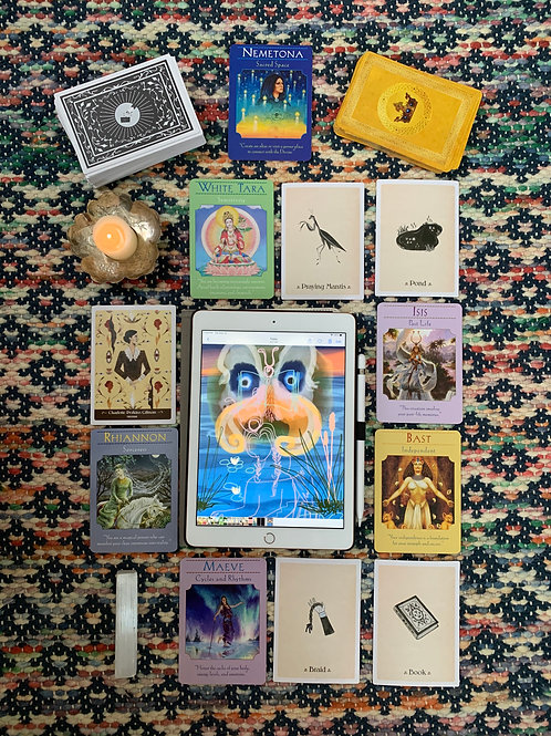 Personal Oracle Card with Reading