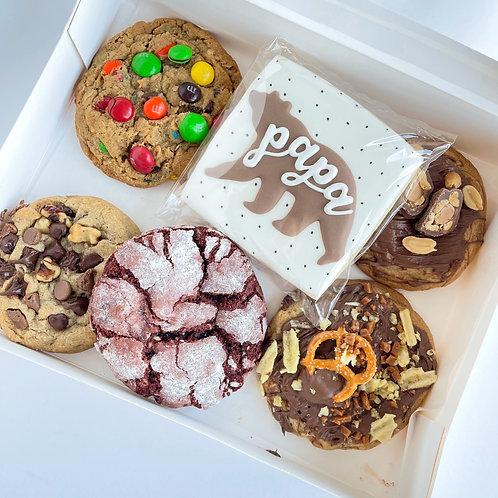 Papa Bear Cookie Box