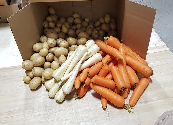 The Big Organic Vege Box