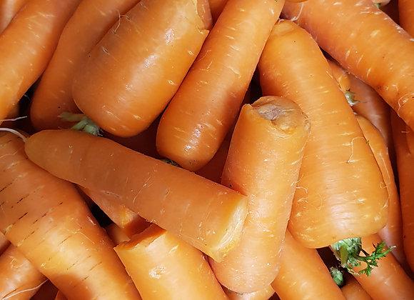 Organic Juicing Carrots