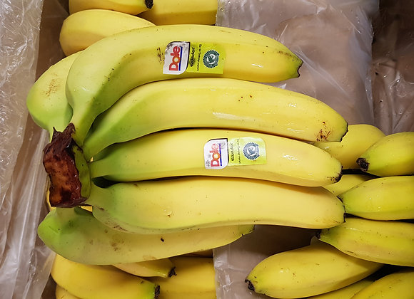 Bananas, priced per bunch